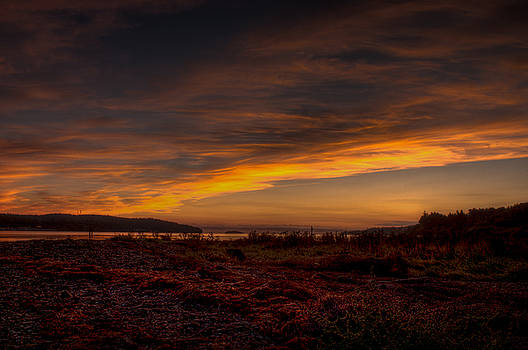 R J Ruppenthal - Nanoose Flats in the Morning