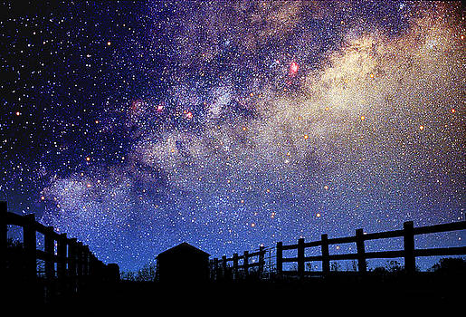 Larry Landolfi and Photo Researchers - Night Sky