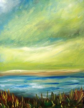 Patricia Taylor - Ocean View from the Beach House