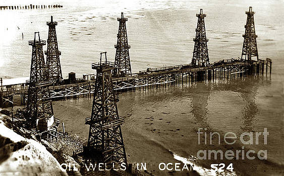 California Views Mr Pat Hathaway Archives - Oil Well in Ocean at Summerland in Santa Barbara County