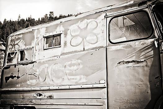 Marilyn Hunt - Old Hippie Peace Van