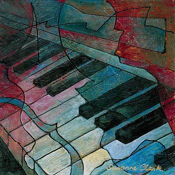 Susanne Clark - On Key - Keyboard Painting