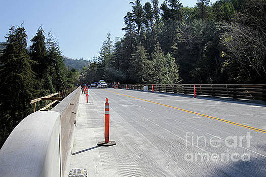 California Views Mr Pat Hathaway Archives - Opening day  Pfeiffer Canyon Bridge October 13, 2017
