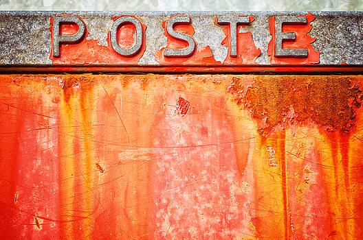 Silvia Ganora - Poste Italian weathered mailbox