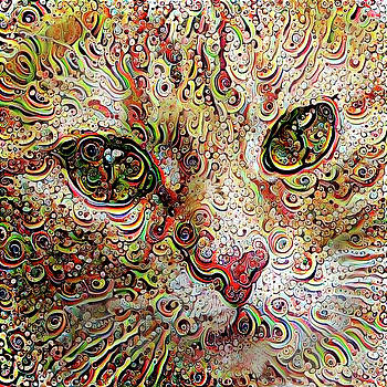 Peggy Collins - Psychedelic Cat