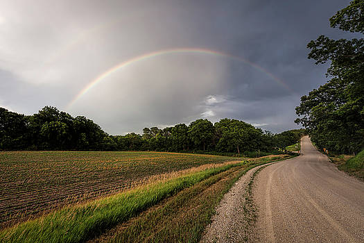 Scott Bean - Rainbow and Country Road