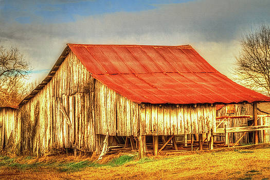 Barry Jones - Red Roofed Barn