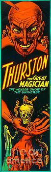 Wingsdomain Art and Photography - Remastered Nostagic Vintage Poster Art Thurston The Great Magician Wonder Show 20170415 v2