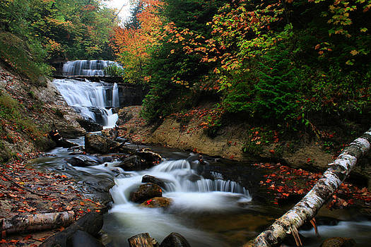 Matthew Winn - Sable Falls in Autumn