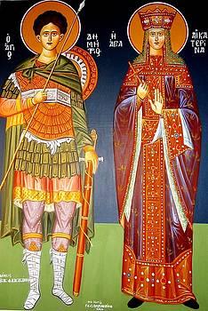 George Siaba - Saint Dimitrios And Saint Aeketerina
