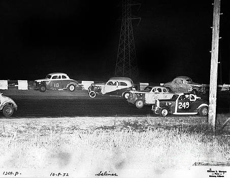California Views Mr Pat Hathaway Archives - Salinas Speedway Oct. 9, 1952