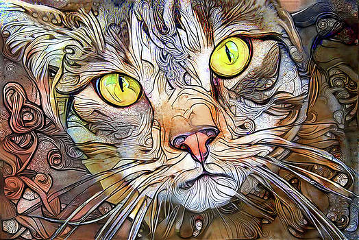 Peggy Collins - Sam the Brown Tabby Cat