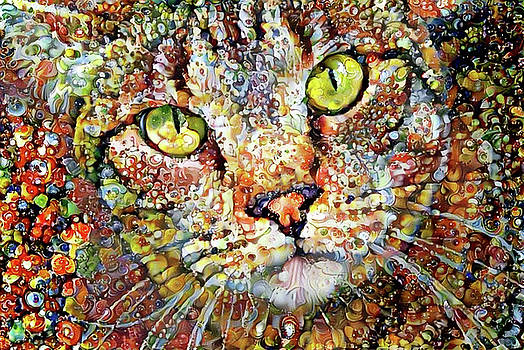 Peggy Collins - Sam the Colorful Tabby Cat
