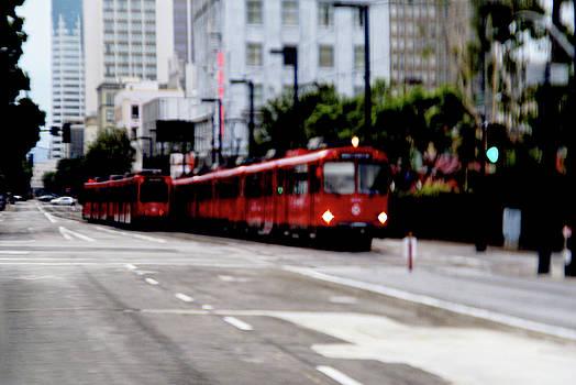 Linda Knorr Shafer - San Diego Red Trolley