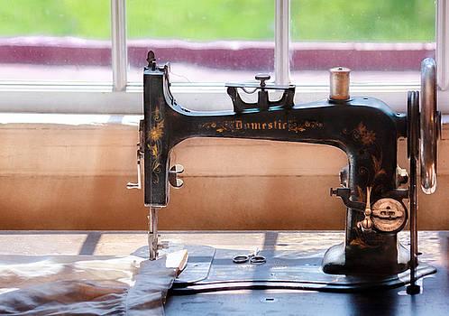 Mike Savad - Sewing Machine - A stitch in time