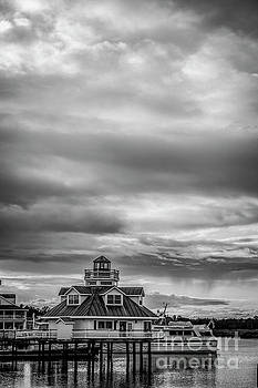 Doug Berry - Smithfield Lighthouse 5621_BW