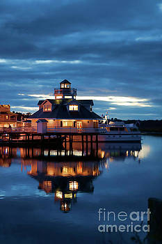 Doug Berry - Smithfield Lighthouse at Night 5853VT2