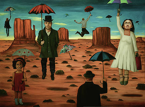 Leah Saulnier The Painting Maniac - Spirits Of The Flying Umbrellas 3