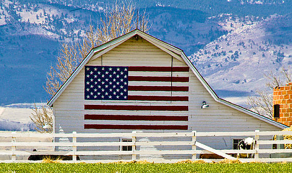 Marilyn Hunt - Stars Stripes and Barns