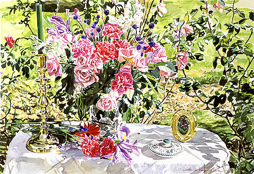 David Lloyd Glover - Still Life In The Artist
