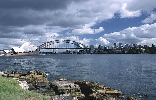 Sandra Bronstein - Storm Over Sydney Harbor
