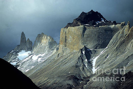 James Brunker - Stormy Light Over Los Cuernos del Paine