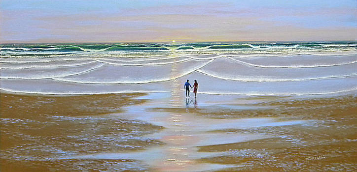Frank Wilson - Sunset At The Beach