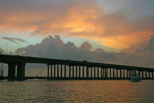 Robert Anschutz - The Bridge to Galveston