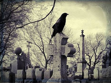 Gothicrow Images - The Crow A Cemetery Staple