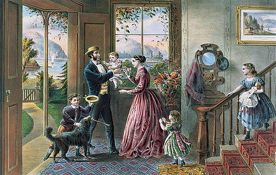 Currier and Ives - The Four Seasons of Life  Middle Age