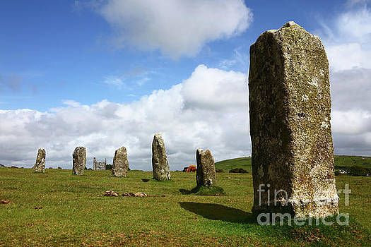 James Brunker - The Hurlers Stone Circle Bodmin Moor Cornwall