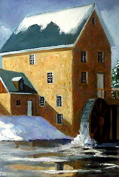 Joyce Geleynse - The Old Grist Mill