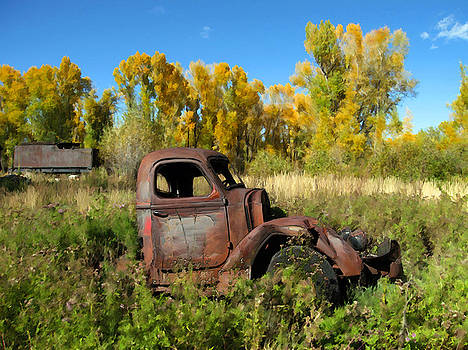 Kurt Van Wagner - The old truck  Chama New Mexico