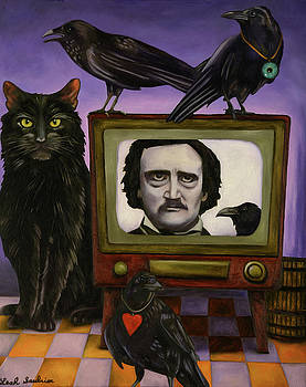 Leah Saulnier The Painting Maniac - The Poe Show