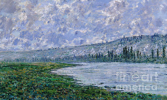 Claude Monet - The Seine at Vetheuil, 1880