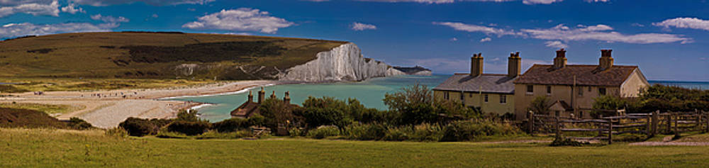 Chris Lord - The Seven Sisters and the Coastguard Cottages