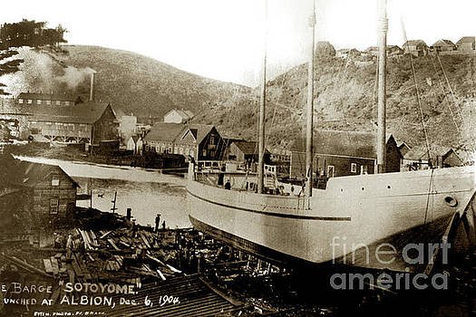 California Views Mr Pat Hathaway Archives - The Sotoyome was built on the Albion River and launched on Decem