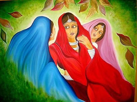 Xafira Mendonsa - The Three Indian Beauties