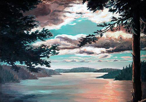 Otto Werner - Thousand Island Sunset