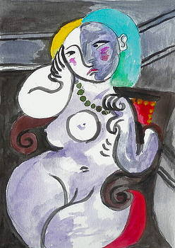 Yvonne Ayoub - Thumbs Down Picasso