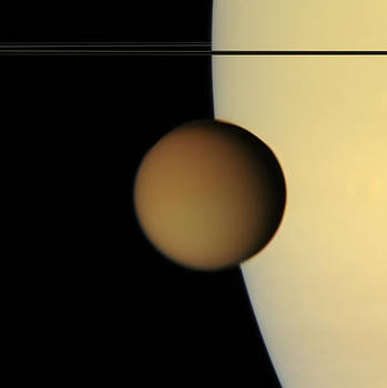 Photo Researchers - Titan from Cassini