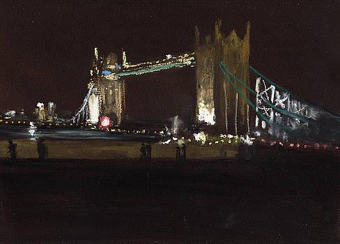 Paul Mitchell - Tower Bridge At Night