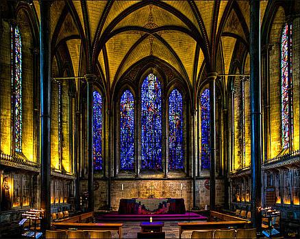 Chris Lord - Trinity Chapel Salisbury Cathedral