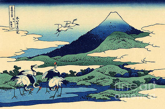 Hokusai - Umegawa in Sagami province, one of Thirty Six Views of Mount Fuji