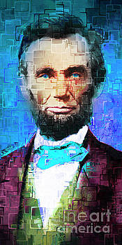 Wingsdomain Art and Photography - United States President Abraham Lincoln 20170325 long
