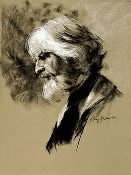 Chris  Saper - Valjean in Charcoal