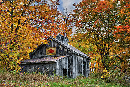 Expressive Landscapes Fine Art Photography by Thom - Vermont Sugarhouse