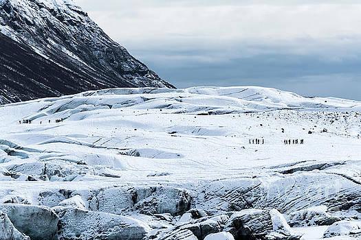 Svetlana Sewell - Walking on Glacier