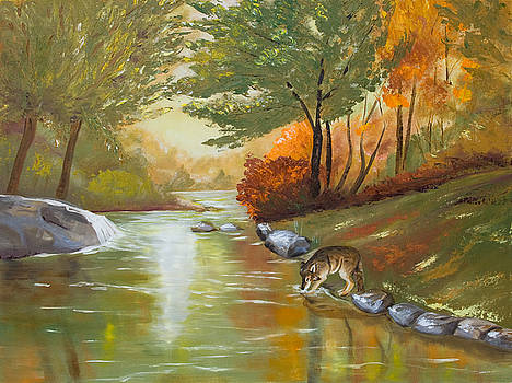 Dorothy Riley - Wolf Watering