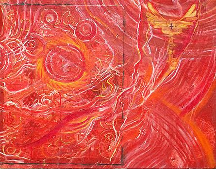 Anne Cameron Cutri - Yaweh El Shaddai bottom Canvas detail